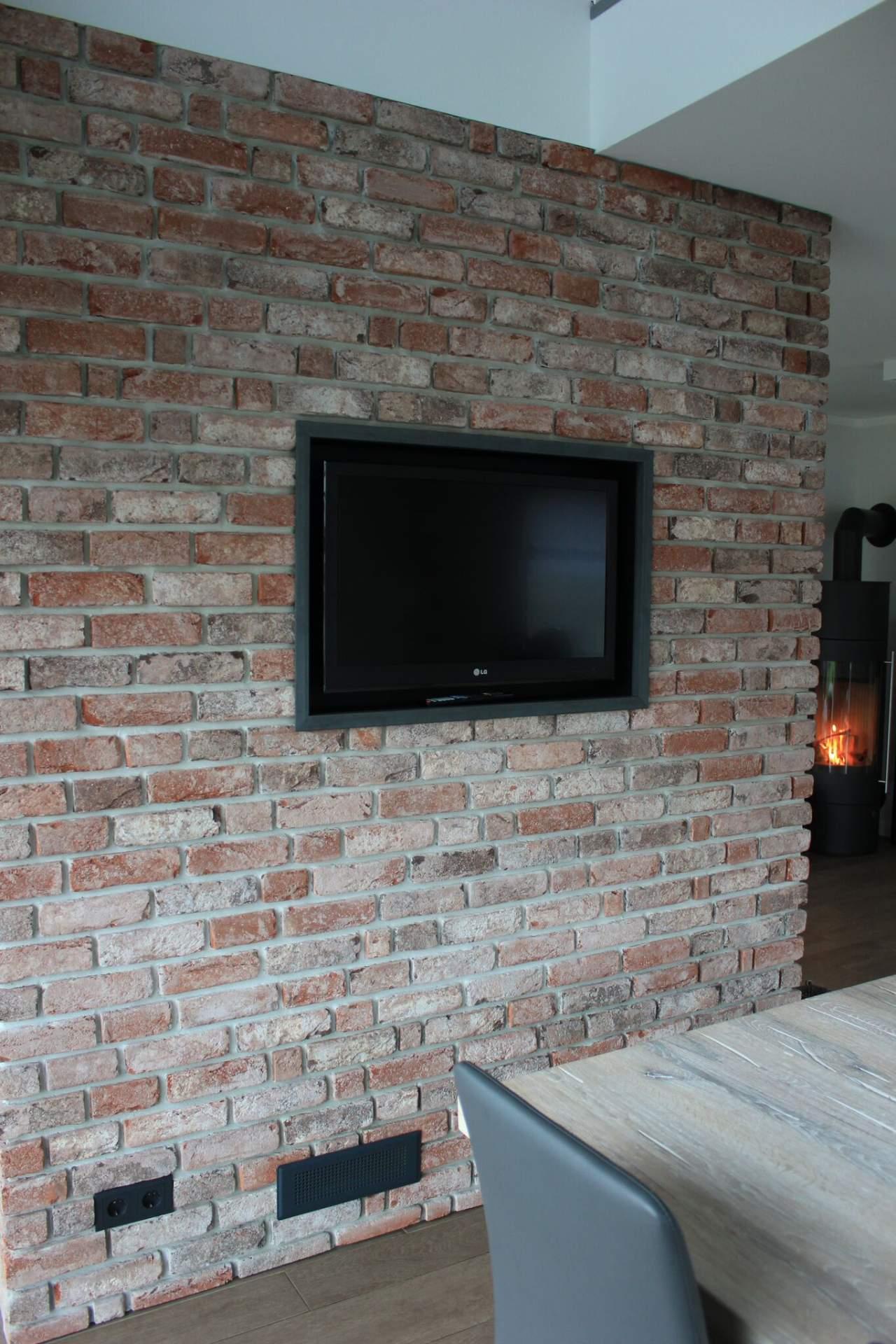 Best Riemchen Wand Wohnzimmer Photos - Erstaunliche Ideen ...