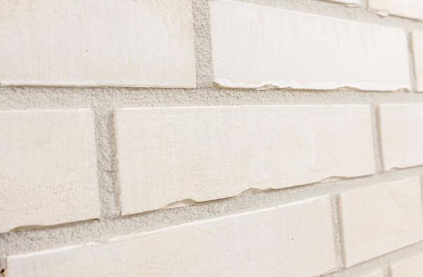 Spaltriemchen-Klinkerriemchen Miran gelb weiß